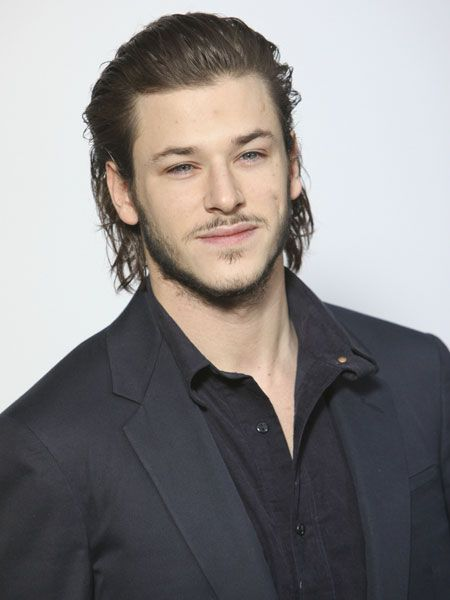 Brushed Back long hairstyles for men with thick hair 8