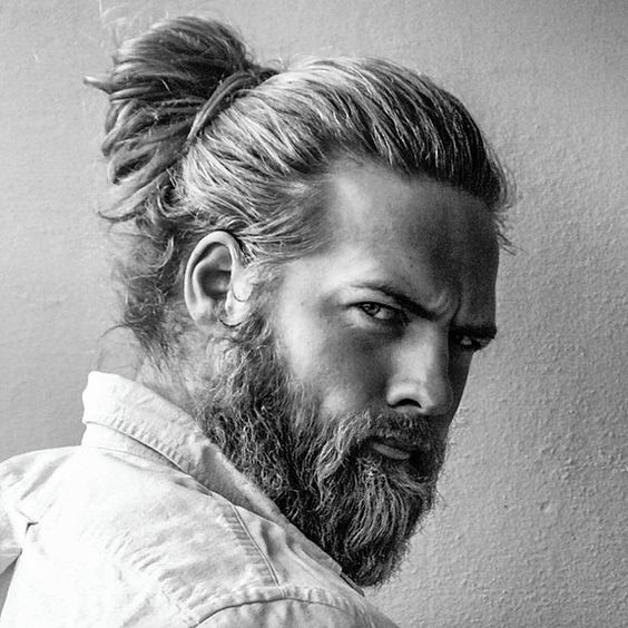 11 Mens Hairstyles over 50 Years Old Bun-Hairstyle-mens-hairstyles-over-50-years-old-11