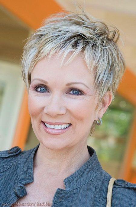 Carefree Pixie for Seniors with Thin Hair That Give Youthful Look 3
