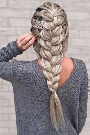 Chunky Plait Braids Most Inspiring Braids Hairstyle for Women 3