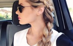 79 Most Inspiring Braids Hairstyle for Women Chunky-Plait-Braids-Most-Inspiring-Braids-Hairstyle-for-Women-5-235x150