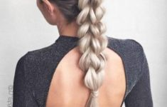 79 Most Inspiring Braids Hairstyle for Women Chunky-Plait-Braids-Most-Inspiring-Braids-Hairstyle-for-Women-6-235x150