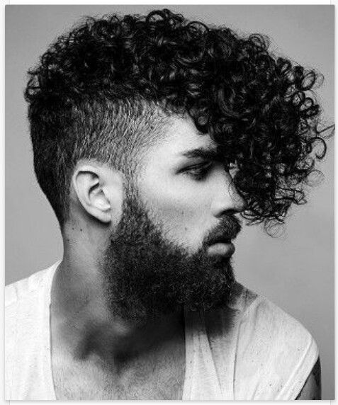Short & Medium Length Curly Hairstyles for Men Curly-Fringe-curly-hairstyles-for-men-07