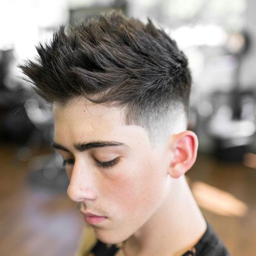 Faux Hawk best mens haircut 2018 7
