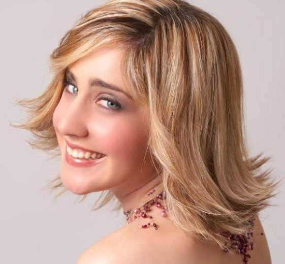flip hairstyles Hairstyles for Short Hair Short Bob Bangs and Curls Flip-Hairstyle-Hairstyle-for-over-40-and-Overweight-Women-6