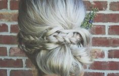 79 Most Inspiring Braids Hairstyle for Women Knotted-Chignon-Most-Inspiring-Braids-Hairstyle-for-Women-5-235x150