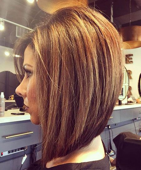 Layered Graduated Bob for Seniors with Thin Hair That Give Youthful Look 4
