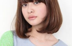 72 Cute and Chic Asian Hairstyles for Women Medium-Bob-With-Bangs-Asian-hairstyles-for-women-3-235x150