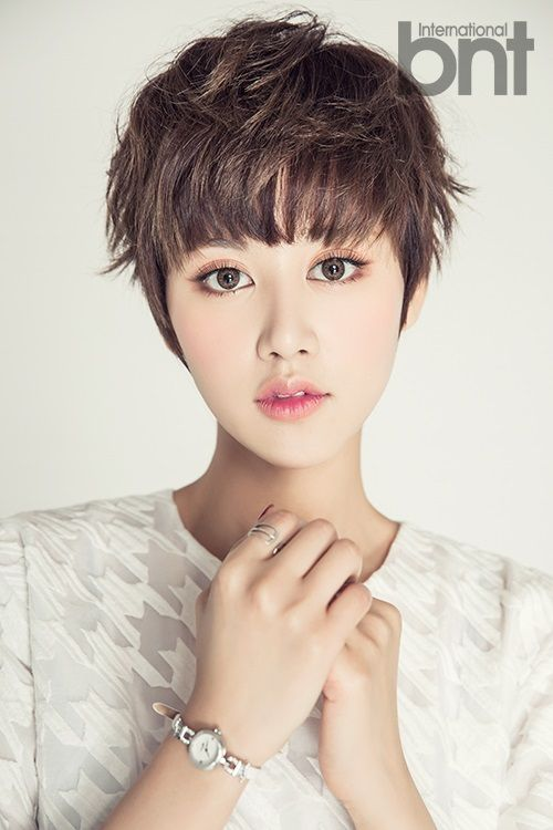 72 Cute and Chic Asian Hairstyles for Women Messy-Pixie-Asian-hairstyles-for-women-1