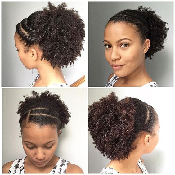 PinnedBack Twist Hairstyle Easy Updos for Short Hair to do Yourself 3