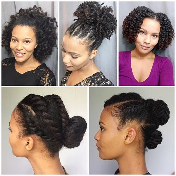 PinnedBack Twist Hairstyle Easy Updos for Short Hair to do Yourself 6