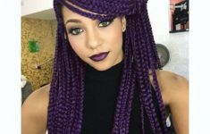 79 Most Inspiring Braids Hairstyle for Women Punky-Purple-Most-Inspiring-Braids-Hairstyle-for-Women-3-235x150