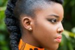 Shaven Sides Most Inspiring Braids Hairstyle For Women 1