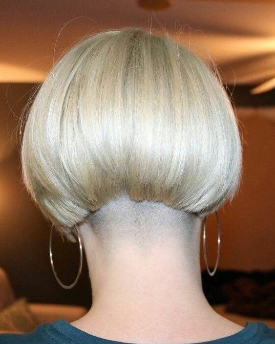 Short Wedge Bob For Seniors With Thin Hair That Give
