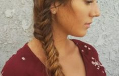 79 Most Inspiring Braids Hairstyle for Women Simple-Side-Swept-Braids-Most-Inspiring-Braids-Hairstyle-for-Women-3-235x150