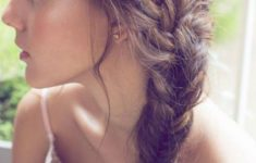 79 Most Inspiring Braids Hairstyle for Women Simple-Side-Swept-Braids-Most-Inspiring-Braids-Hairstyle-for-Women-4-235x150