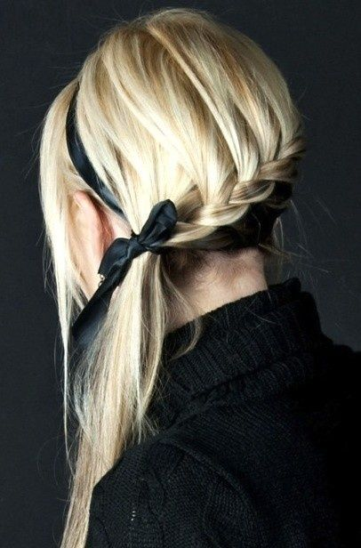 Simple Side Swept Braids Most Inspiring Braids Hairstyle for Women 5