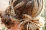 Space Braided Bun With Pig Tails Most Inspiring Braids Hairstyle For Women 4