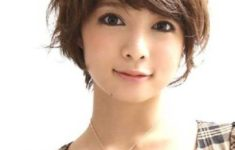 72 Cute and Chic Asian Hairstyles for Women Textured-Pixie-With-Bangs-Asian-hairstyles-for-women-5-235x150