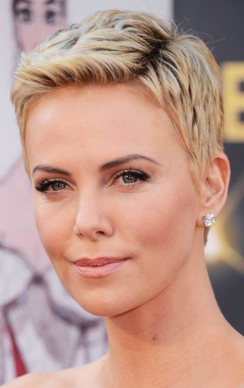 15 Best Older Women Hairstyles for Formal Events (Updated 2021) Textured-very-short-pixie-cut