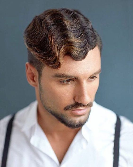 12 Sexy and Cool Hairstyles for Older Men The-Vintage-Wave-Hairstyle-cool-hairstyles-for-older-men-1