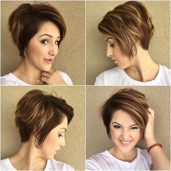 19 Trendy Short Brown Hairstyles that You Need to Check b3663962f32602bffdca378e2ff4d952