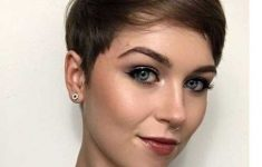 19 Trendy Short Brown Hairstyles that You Need to Check c010eaf3cf6aaa5a985cd84b1d41ef4d-235x150