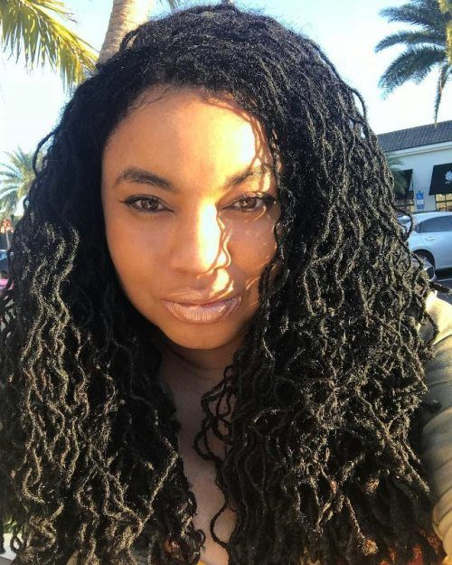 Curly Locks Hairstyle for African American Women 5