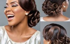 66 Best Hairstyle Ideas for African American Wedding