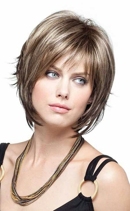 54 Best Women's Hairstyles for over 40 and Overweight straight-light-bang-1