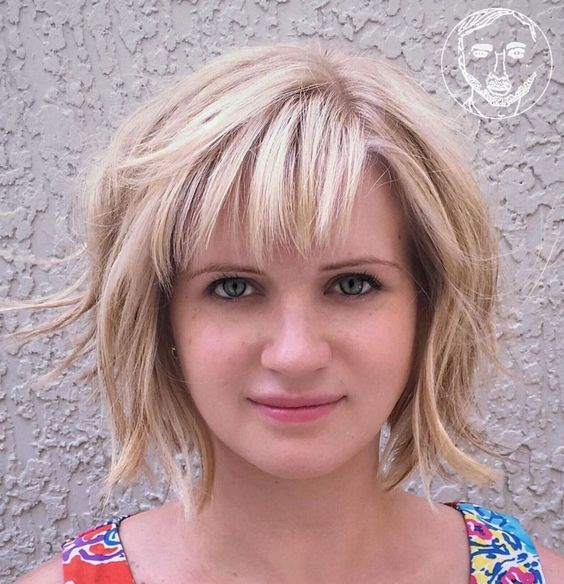 15 Casual Short Hairstyles for Women Over 50 (Updated 2021) Choppy-bob-hairstyle