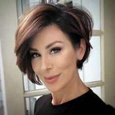 15 Casual Short Hairstyles for Women Over 50 (Updated 2021) Layered-pixie-bob