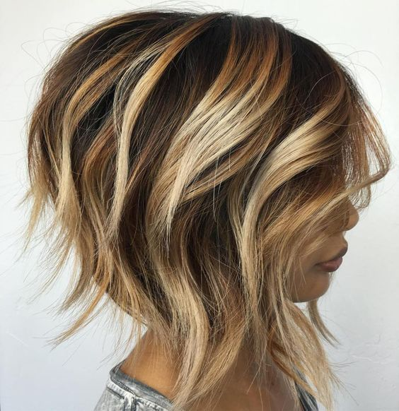 25 Short Haircut Styles that Make You Look Way Younger (Updated 2021) Long-wedge-hairstyle