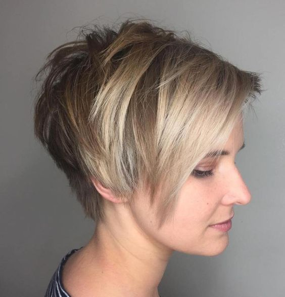 25 Short Haircut Styles that Make You Look Way Younger (Updated 2021) Pixie-wedge