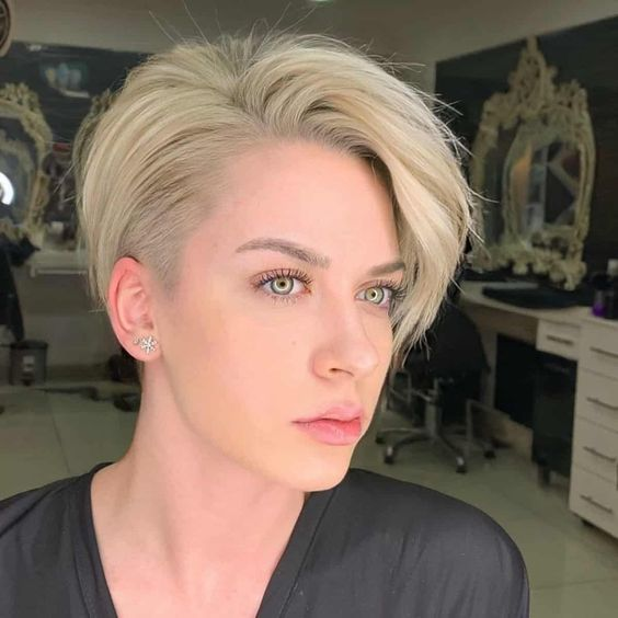 25 Short Haircut Styles that Make You Look Way Younger (Updated 2021) Thick-edgy-pixie-cut