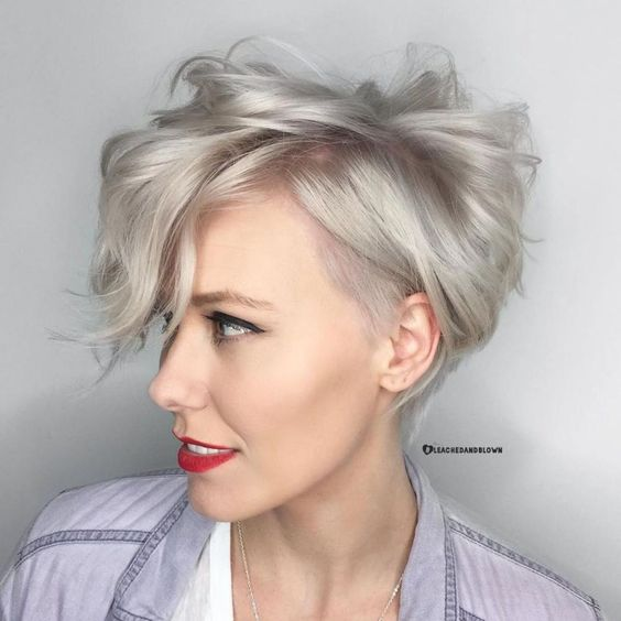 25 Short Haircut Styles that Make You Look Way Younger (Updated 2021) Wavy-pixie-bob