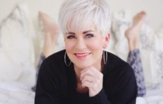 Short Hairstyle Tips for Women Over 60 for the Most Gorgeous Look Through the Day fcf3c78e75ad17a480b8d70c6de87112-235x150