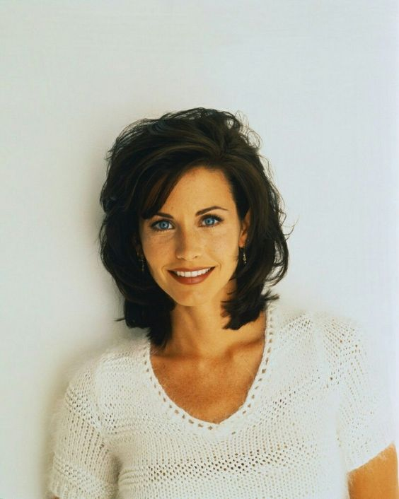 courteney cox medium hairstyles