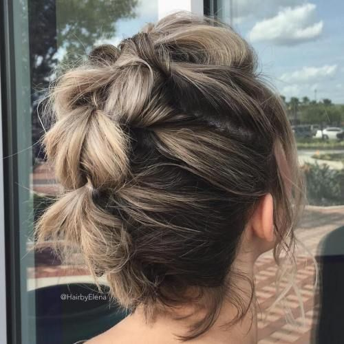 Chic Updos for Short Hair for Touch of Freshness and Beauty on How You Look 3bca31028d5a33b70012815188891707