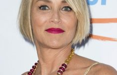 Sharon Stone Hairstyles As Wonderful Choices for Older Women with Short Hair Length 47b218984cb49a222337f05cb1f2f801-235x150