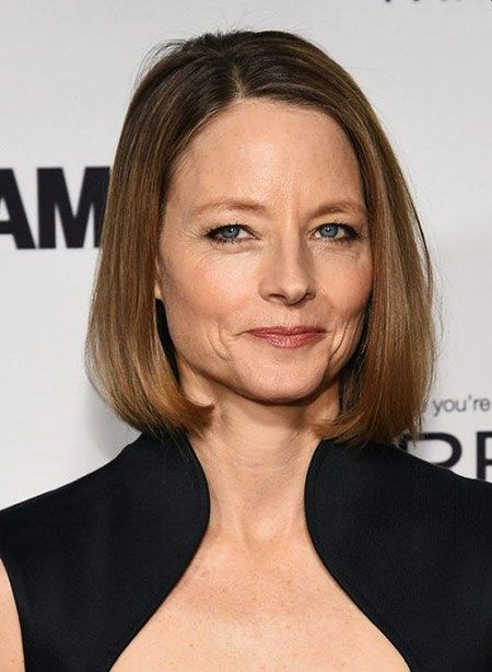 Jodie Foster Short Haircut for Women with Short to Medium Hair Length to Consider