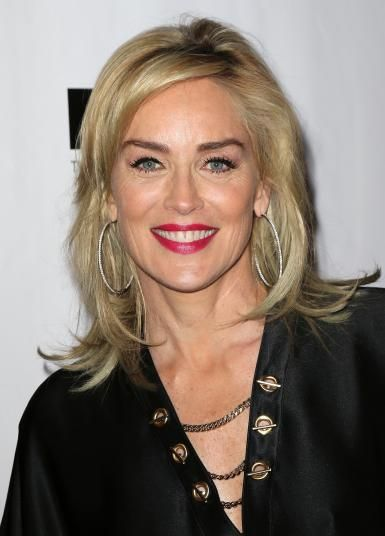Sharon Stone Hairstyles As Wonderful Choices for Older Women with Short Hair Length 9787103afd53a0263a1d61d63cd596eb