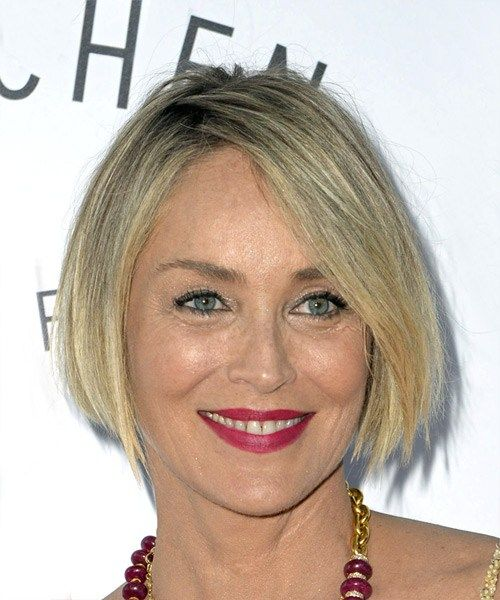 Sharon Stone Hairstyles As Wonderful Choices for Older Women with Short Hair Length a3737ea1d1d78394b5b292d2ea6eaeda