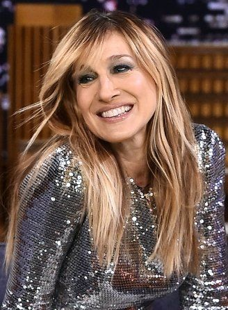 sarah jessica parker long hairstyles