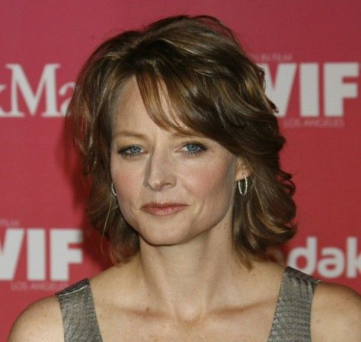 Jodie Foster Short Haircut for Women with Short to Medium Hair Length to Consider be779cbd86f74ef6fab7fa70892386f1