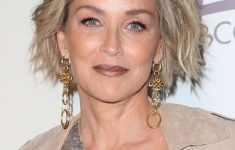 Sharon Stone Hairstyles As Wonderful Choices for Older Women with Short Hair Length c34a0cd1073cbeb825255f77bc8a496a-235x150