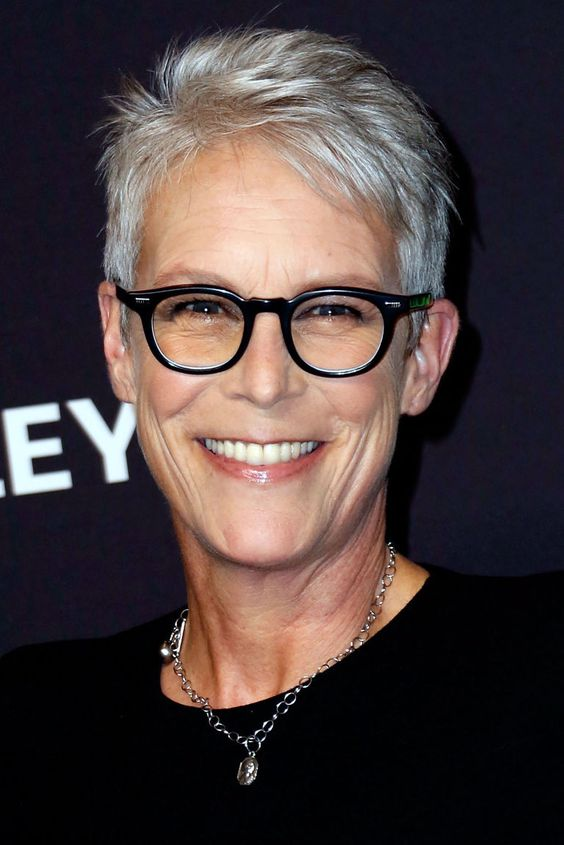 Jamie Lee Curtis Haircut for Real Short Hair Length to Style on Yourself at Your Old Age ea4310154201c943d47f0341c34a4171