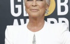 Jamie Lee Curtis Haircut for Real Short Hair Length to Style on Yourself at Your Old Age