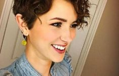 Curly Pixie Cut for Pleasant Way of Cutting Your Hair Short and Still Make It Look Stylish 0114cfd27298d3dff4d0d2cb44a869cb-235x150