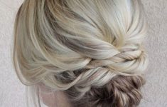 Updo Hairstyles for Weddings to Emphasize the Beauty and Elegance of the Bride 43b476b16f97393688b57f4d65c31be8-235x150